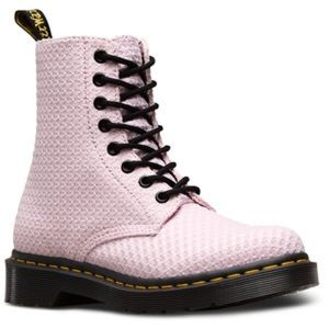 Dr martens doc Page WC Bubble gum pink boots 8 Eye